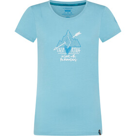La Sportiva Alakay T-Shirt Women pacific blue